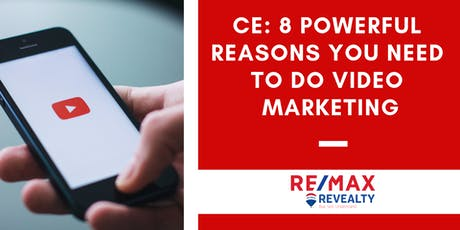 8 Powerful Reasons You Need to Do Video Marketing tickets
