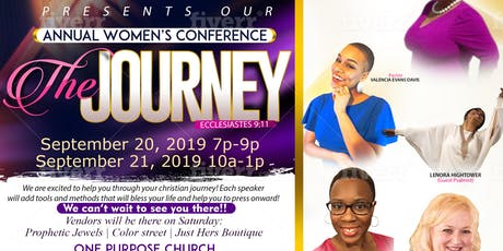 """The Journey"" Women's Conference tickets"