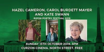 Hazel Cameron, Carol Burdett Mayer and Kate Swann