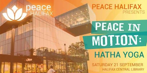 Peace in Motion: Hatha Yoga at Peace Halifax