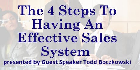 The 4 Steps To Having An Effective Sales System tickets