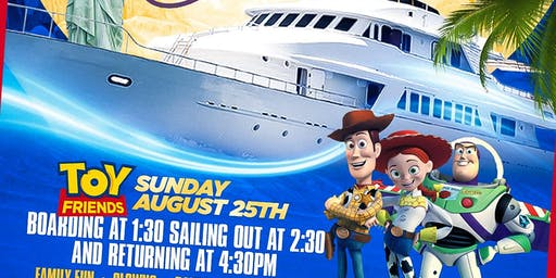 Kids Party Cruise Hosted By Your Favorite Toy Story Friends