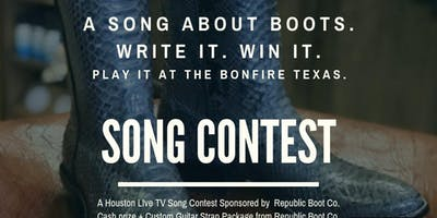 Songwriting Contest Sponsored by Republic Boot Co.