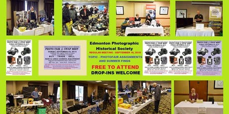 Camera / Photography Club … FREE … September 18, 2019 tickets