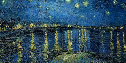 Paint Starry Night over the Rhone!