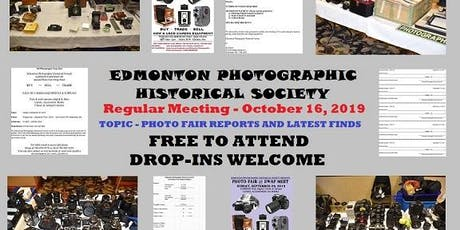 Camera / Photography Club … FREE … October 16, 2019 tickets