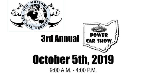 3rd Annual Ford Power Car Show
