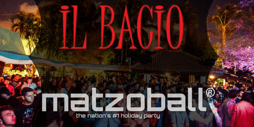 MATZOBALL®DELRAY BEACH XMAS EVE Ages 21-49 December 24, 2019