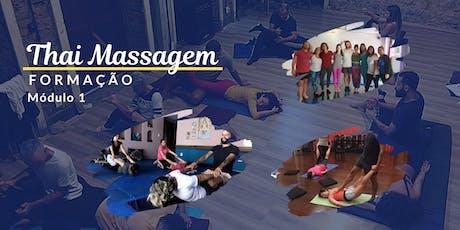 Formação em Thai Massagem - Módulo 1 ingressos