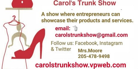 Carol's Trunk Show 4th Vendor Show tickets