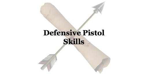 Defensive Pistol Skills (10/6)