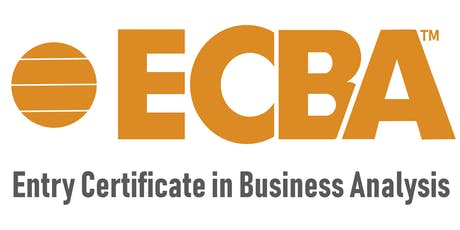 ECBA Training Online - Entry Certificate in Business Analysis - Calgary tickets