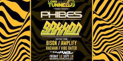 Long Dark Tunnel presents Phibes and Saxxon