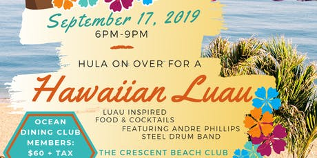 Luau on the Beach tickets