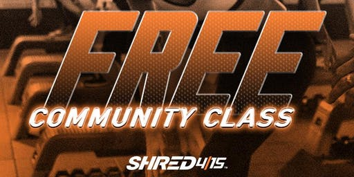 FREE Community Class at Shred415 San Ramon