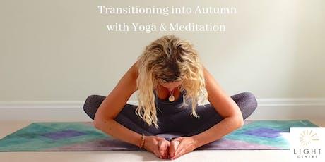 Autumn Yoga & Meditation Workshop tickets
