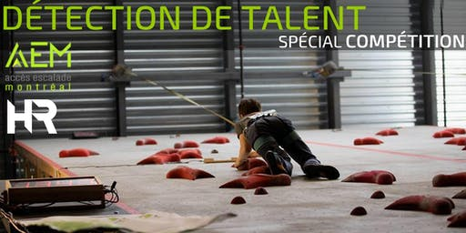 Séance gratuite de détection de talents en escalade - Spécial Équipe de compétition AEM/HR Saison 2019-2020