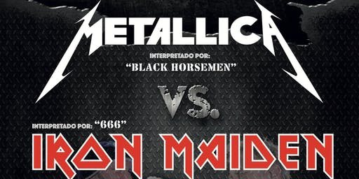 METAL DUO - Metallica Vs. Iron Maiden (Santander)