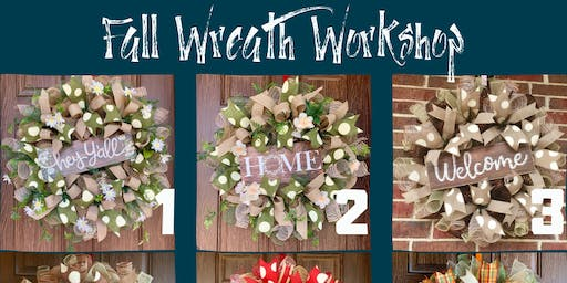 Fall Wreath Making Workshop with Jessica Brock