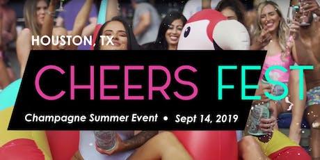 Houston Cheers Fest tickets