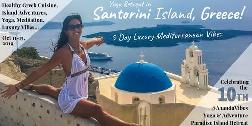 5 Day Luxury Island Yoga Adventure Retreat in Santorini, Greece
