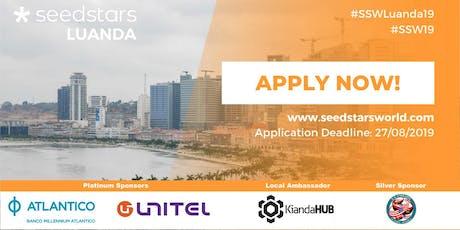 Seedstars Luanda 2019 tickets