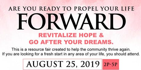 Are you ready to propel yourself forward? Join us for our one day seminar tickets