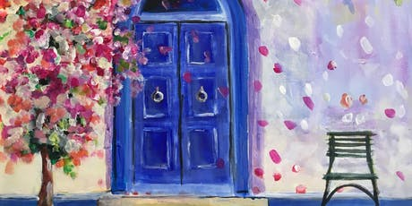 Paint & Sip Party Event - 'Blue Door' at The 3 Horseshoes in YAXLEY, P'boro tickets