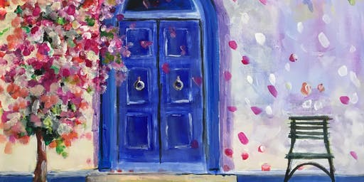 Paint & Sip Party Event - 'Blue Door' at The 3 Horseshoes in YAXLEY, P'boro