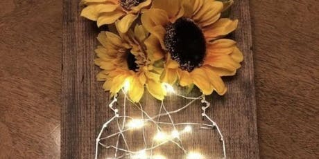 Light Up Mason Jar String Art  tickets