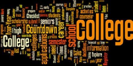College Planning 102 tickets