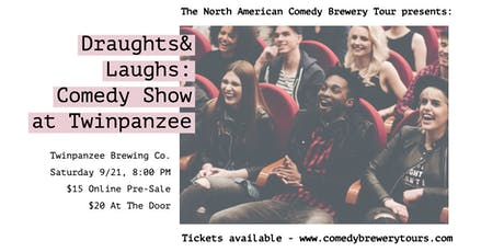 Draughts & Laughs: Beer and Comedy Show at Twinpanzee! tickets