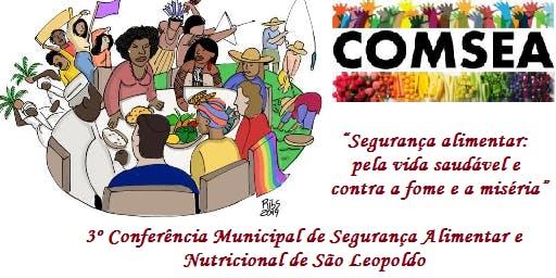3º Conferência Municipal de Segurança Alimentar e Nutricional