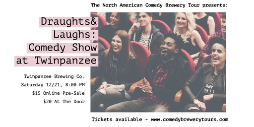 Draughts & Laughs: Beer and Comedy Show at Twinpanzee!