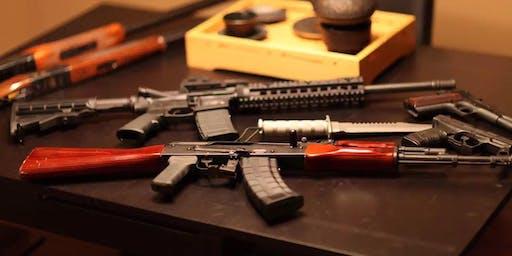 基础枪械课程和加州枪械安全执照考试