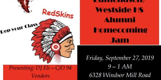 Edmondson Alumni Homecoming party