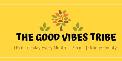 The Good Vibes Tribe-September 2019