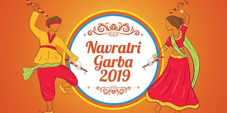 Navratri Garba 2019 tickets