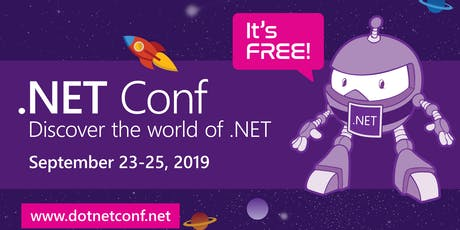 .NET Conf 2019 tickets