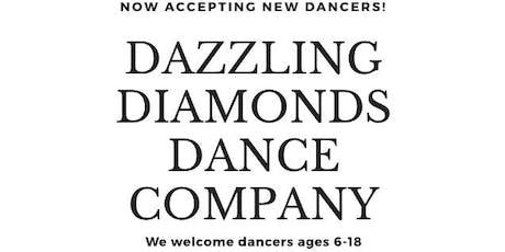 Dazzling Diamonds Tryouts ! tickets