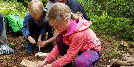 Family Bushcraft at North Yorkshire Waterpark, 10am - 12:30pm, 28 Aug 2019