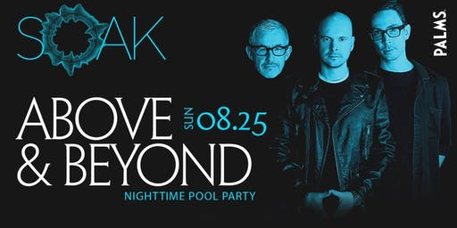 8.25 Above & Beyond SOAK Sunday Nightswim Party @ KAOS Nightclub Las Vegas