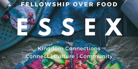 KC Essex: Fellowship Over Food tickets