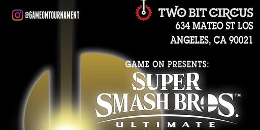 Game on Smash bros Ultimate tournament Vol.4