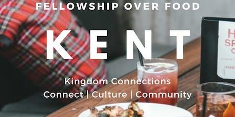 KC Kent: Fellowship Over Food tickets