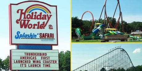 Holiday World Day Trip tickets