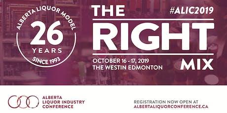 2019 Alberta Liquor Industry Conference tickets