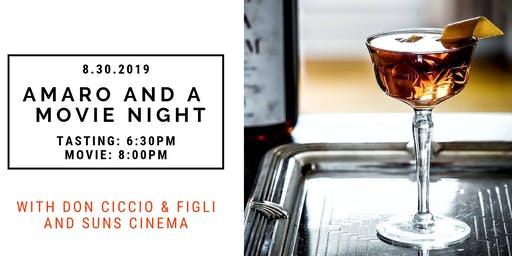 Amaro and a Movie Night