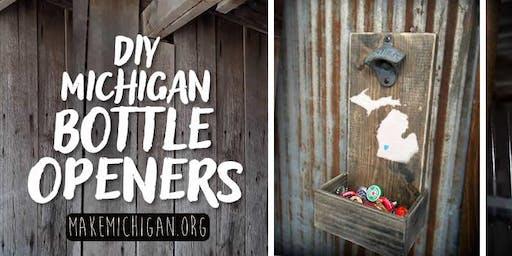 DIY Michigan Bottle Openers - Richland