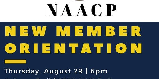 Jackson County Branch NAACP New Member Orientation